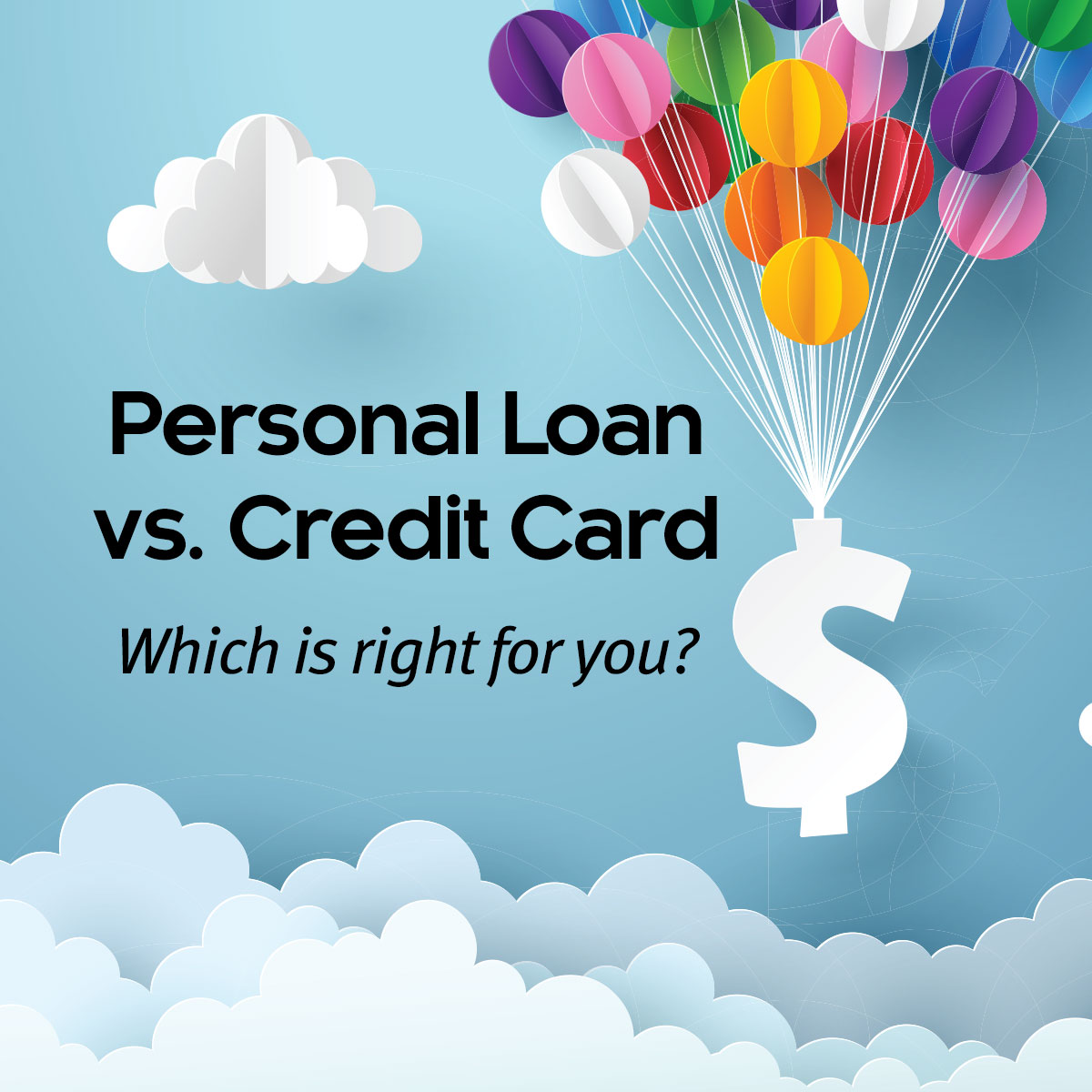 Personal Loan vs A Credit Card