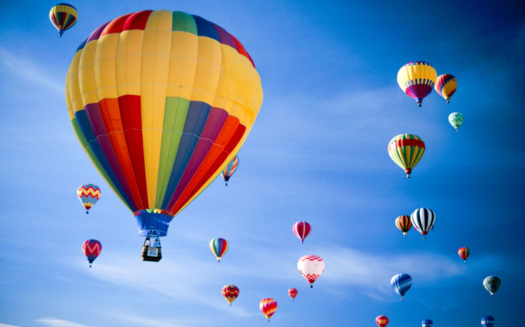 Balloon Fiesta and Amtrak Train Travel